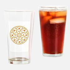 Sunny Spots by Xen™ Drinking Glass