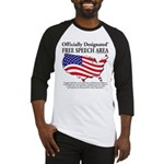 FreeSpeechArea10x10 Baseball Jersey