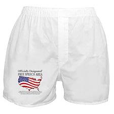 Cute Freedom of speech Boxer Shorts