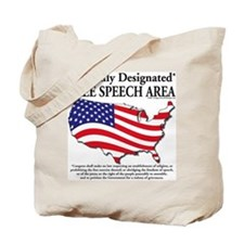 Cute Freedom speech Tote Bag