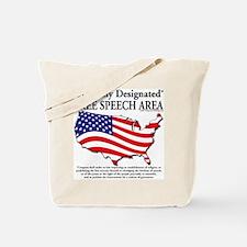 Cute First amendment Tote Bag