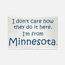 From Minnesota Rectangle Magnet