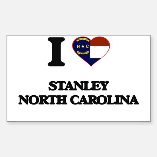 I love Stanley North Carolina Decal