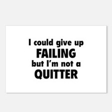 I Could Give Up Failing Postcards (Package of 8)