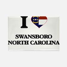 I love Swansboro North Carolina Magnets