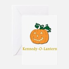 Kennedy-O-Lantern Greeting Card