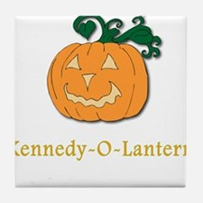 Kennedy-O-Lantern Tile Coaster