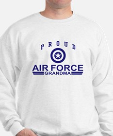 Proud Air Force Grandma Sweatshirt
