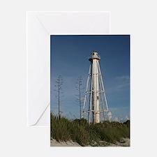 Florida Boca Grande Lighthouse Greeting Card