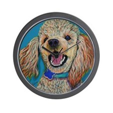 Lil' Poodle Wall Clock