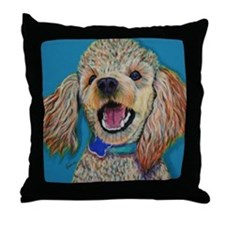 Lil' Poodle Throw Pillow