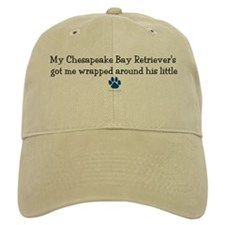 Wrapped Around His Paw (Chesapeake) Baseball Cap