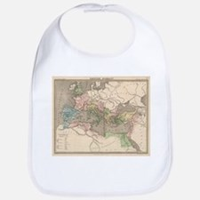 Vintage Map of The Roman Empire (1838) Bib