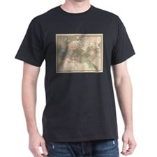 Vintage Map of The Roman Empire (1838) T-Shirt