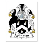 Adlington Family Crest    Small Poster