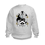 Adlington Family Crest    Kids Sweatshirt
