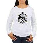 Adlington Family Crest    Women's Long Sleeve T-Sh