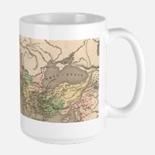 Vintage Map of The Roman Empire (1838) Mugs