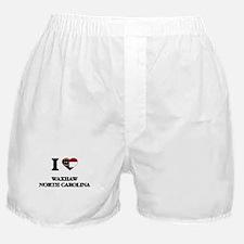 I love Waxhaw North Carolina Boxer Shorts