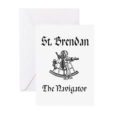 St. Brendan Greeting Card
