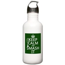 Keep Calm and Smash It Sports Water Bottle
