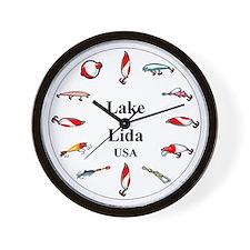 Lake Lida Clocks Wall Clock