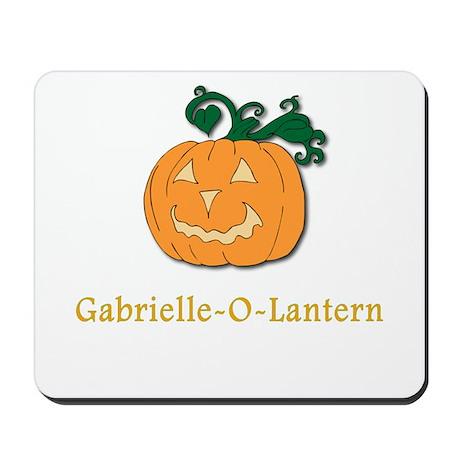 Gabrielle-O-Lantern Mousepad