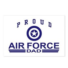 Proud Air Force Dad Postcards (Package of 8)