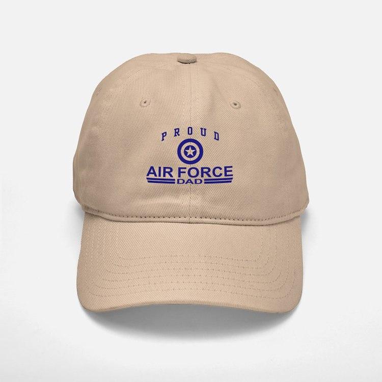 Proud Air Force Dad Baseball Baseball Cap