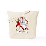 Abingdon Family Crest Tote Bag