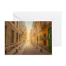 Street of Sun Greeting Card