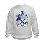 Abell Family Crest Kids Sweatshirt