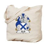 Abell Family Crest Tote Bag