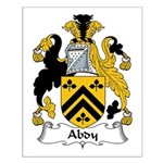 Abdy Family Crest Small Poster