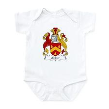 Abbot Family Crest  Infant Bodysuit