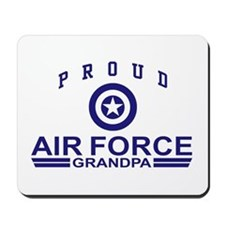 Proud Air Force Grandpa Mousepad