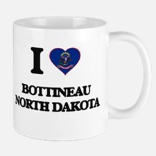 I love Bottineau North Dakota Mugs