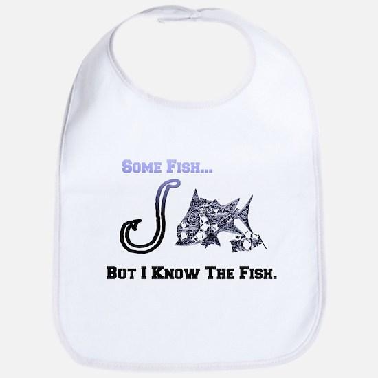 I Know Fish. Fish Retro Tuna RCM Wild Wow Bib