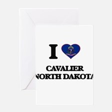 I love Cavalier North Dakota Greeting Cards