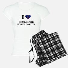 I love Devils Lake North Da Pajamas