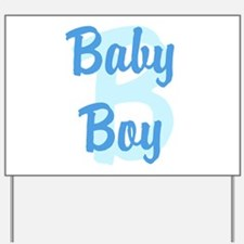 Baby Boy Yard Sign