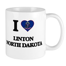 I love Linton North Dakota Mugs