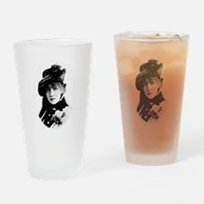 Sarah Bernhardt French stage and e Drinking Glass