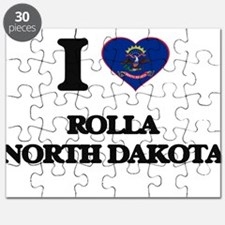 I love Rolla North Dakota Puzzle
