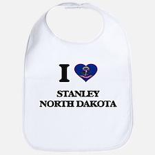 I love Stanley North Dakota Bib