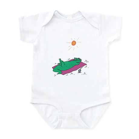 Alligator in the Sun Infant Bodysuit