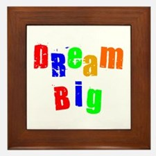 Scott Designs Dream Big Framed Tile