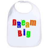 Dream big Cotton Bibs