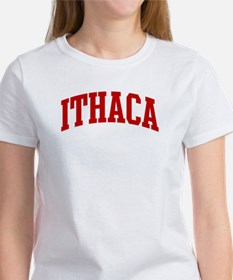 ITHACA (red) Tee