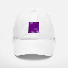 Glitter Bokeh purple Baseball Baseball Cap